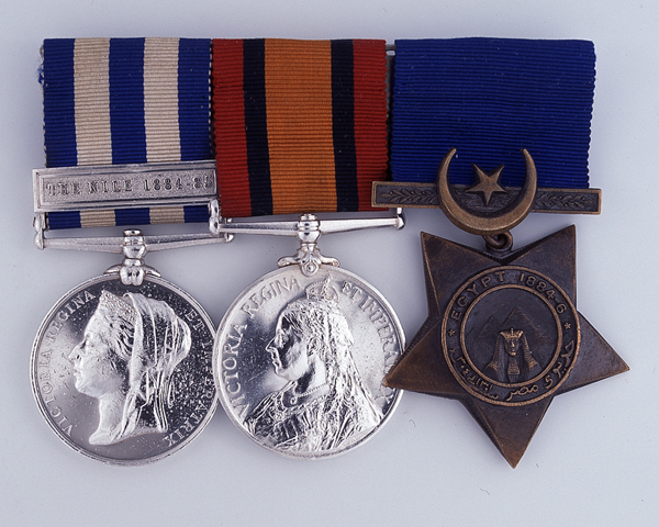 Medal group awarded to Captain J H Kennedy, Queen's Own (Royal West Kent) Regiment