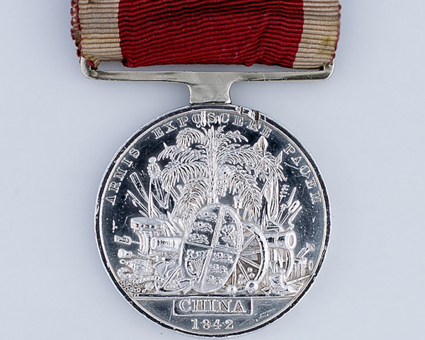1st China War Medal 1842 awarded to Lieutenant Colonel Colin Campbell