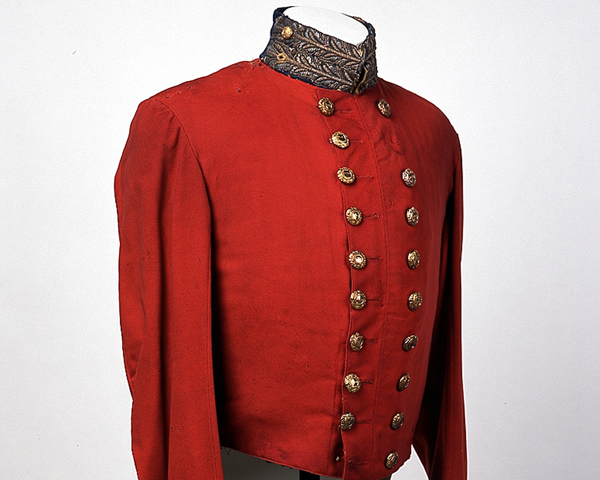 Officer's full dress coatee, 97th (Earl of Ulster's) Regiment, c1850