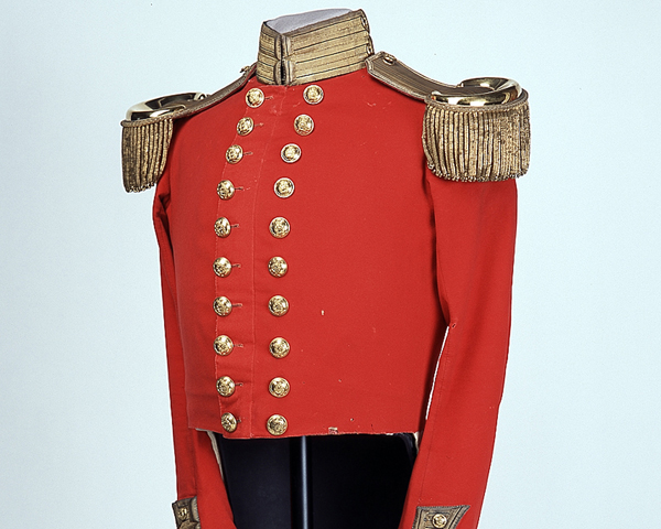 Coatee worn by Surgeon Christopher Bassano, 70th (Surrey) Regiment, c1845