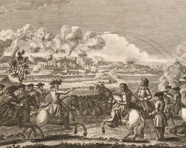 General Oliver Cromwell taking Drogheda, 1649