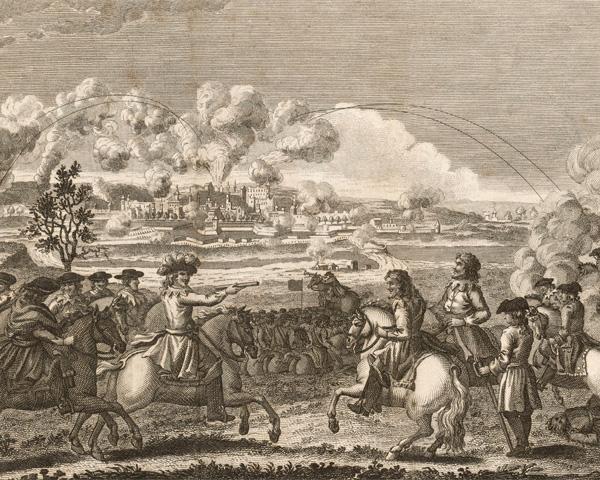 General Oliver Cromwell taking Drogheda, 1649