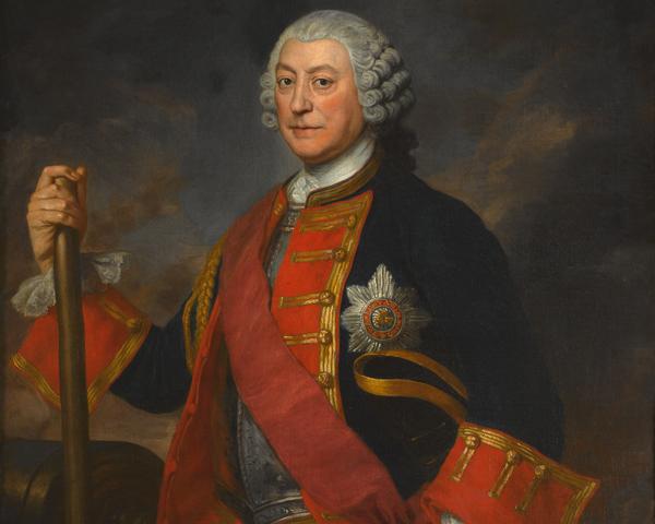 General Jean Louis Ligonier, Colonel of the Royal Regiment of Horse Guards, 1754