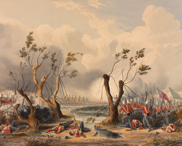 Charge of the 24th Regiment at Chillianwala, 1849