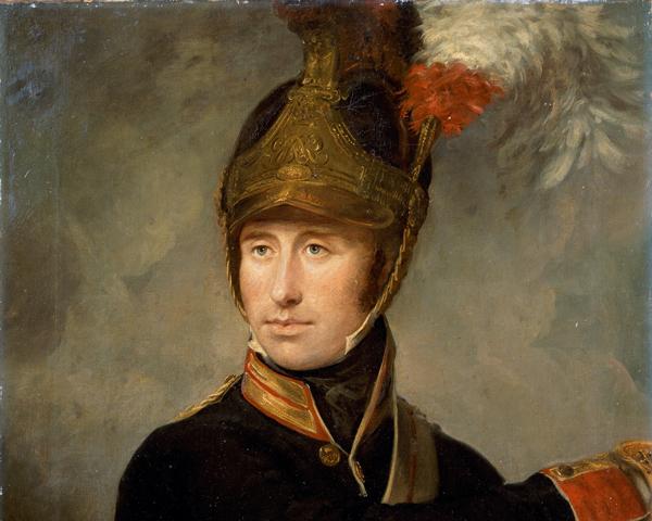 Captain William Tyrwhitt Drake, The Royal Horse Guards, c1815