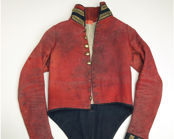 Other ranks' coatee, 1st Regiment of Life Guards, c1814