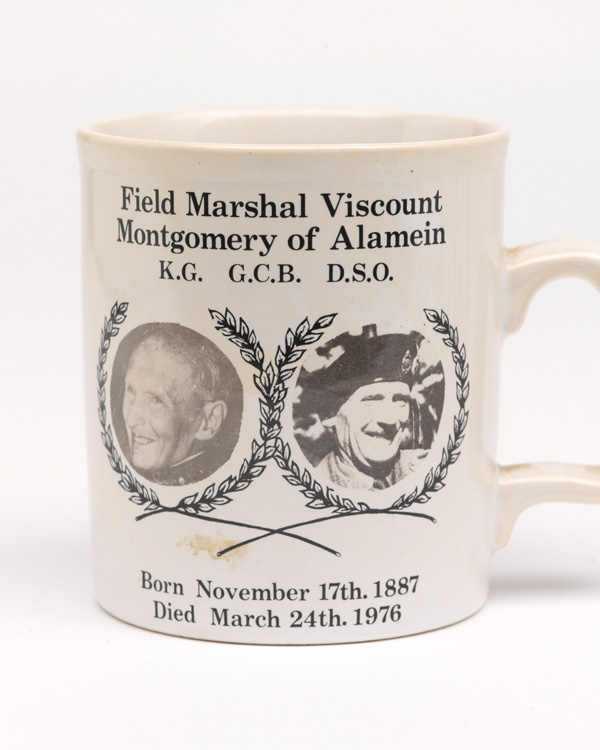 Montgomery commemorative mug, 1976