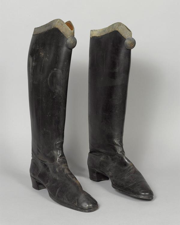Boots, 3rd Zieten Hussars, worn The Duke of Connaught, c1900s