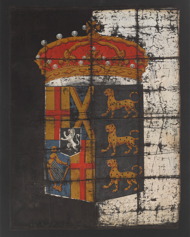 Oliver Cromwell's funeral banner, c1658