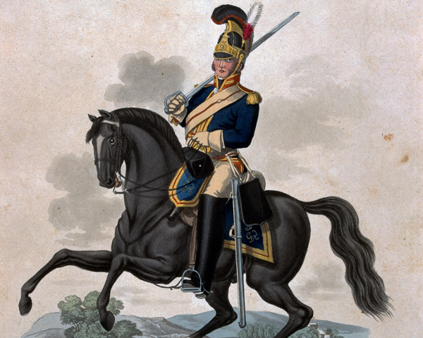 A trooper of the Royal Horse Guards, 1812
