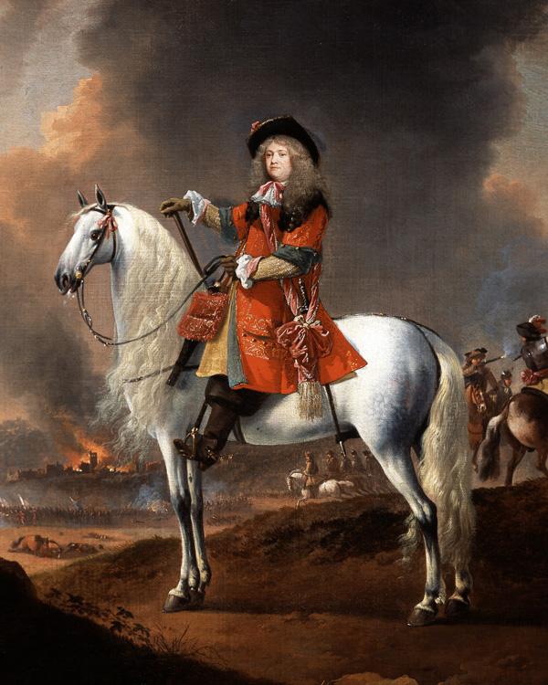 Lieutenant-Colonel Randolph Egerton MP, The King's Troop of Horse Guards, c1672