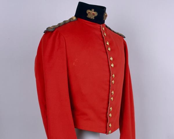 Shell jacket worn by Lieutenant-Colonel Harry Chester, 23rd Regiment, c1854