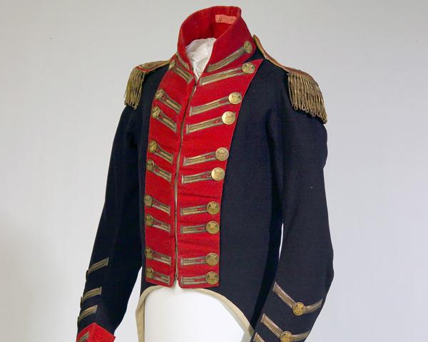 Coatee of Captain William Cludde, Royal Regiment of Horse Guards, c1803