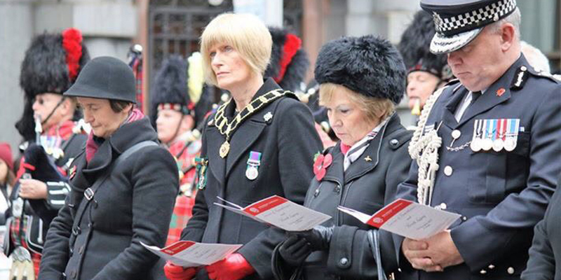 War Widows Annual Remembrance Service 2017
