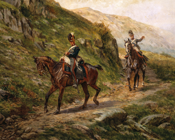 Men of the 16th (The Queen's) Regiment of (Light) Dragoons, c1808