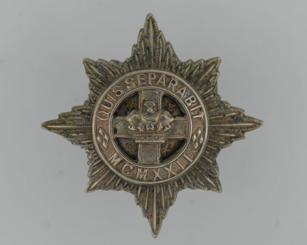 Badge, 4th/7th Royal Dragoon Guards, c1968