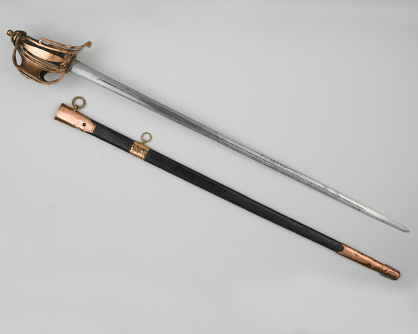 Basket hilted broadsword of Captain Colin Campbell Mackay, c1805
