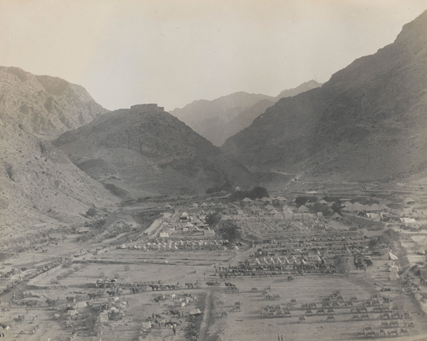 British reinforcements at Ali Masjid, the Khyber's mid-way point, 1919
