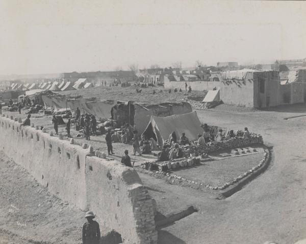 The British post at Wana in Waziristan, c1919