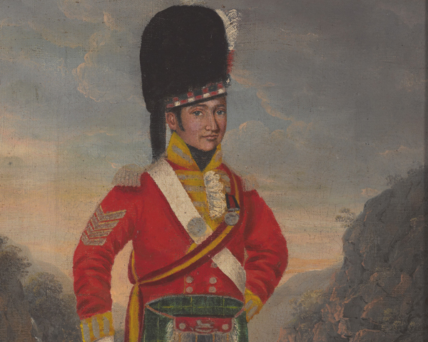 A sergeant of the 92nd Regiment of Foot, c1816