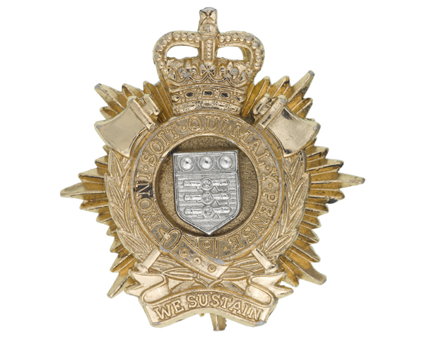 Other ranks' cap badge, The Royal Logistic Corps, c1993