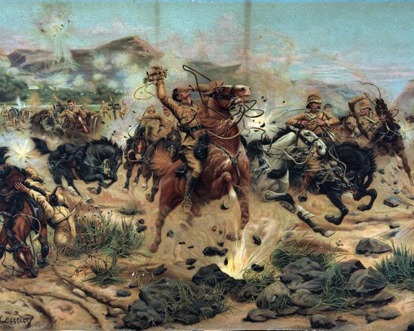 Saving the guns at Colenso, 15 December 1899