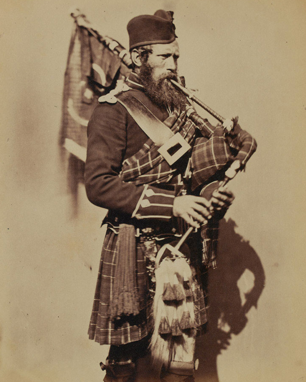 Pipe-Major Macdonald, 72nd (Duke of Albany's Own Highlanders) Regiment of Foot, 1856