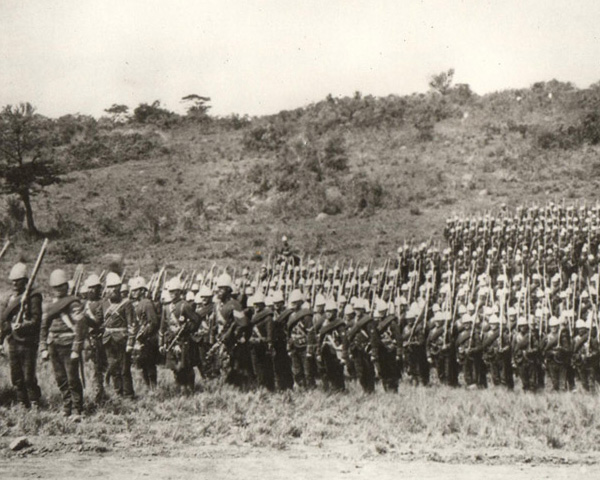 The 91st Highlanders in Zululand, 1879