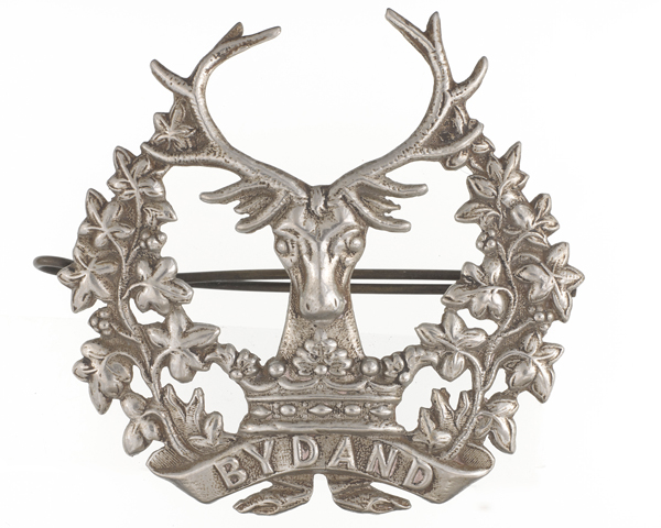 Other ranks' cap badge, The Gordon Highlanders, c1913