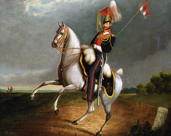 Trooper of the 9th Lancers, 1827