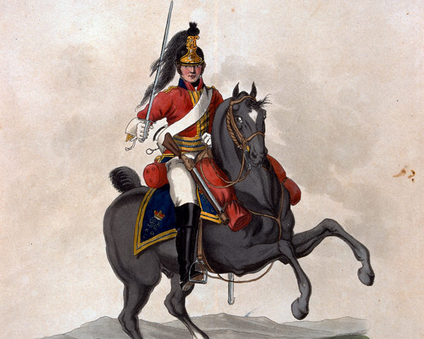 A soldier of the 1st King's Dragoon Guards, 1812