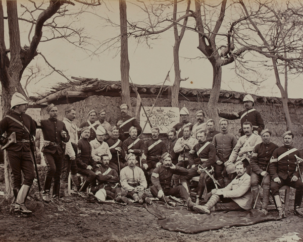 Sergeants of the 9th Lancers at Kabul, 1880