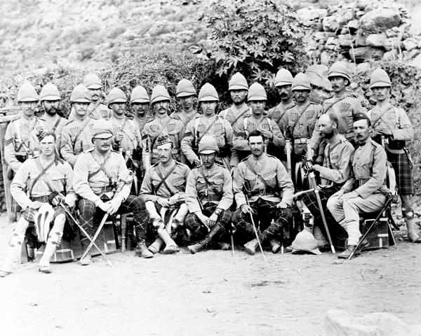 Members of the 2nd Seaforth Highlanders, Hazara Expedition, 1888