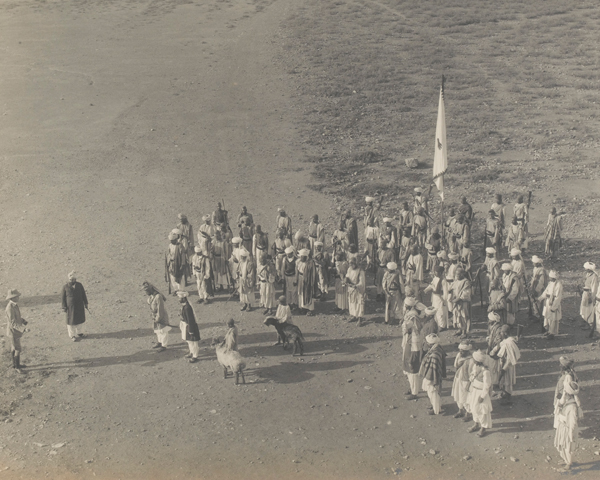 Arrival of the Afghan peace delegates at Dakka, 24 July 1919
