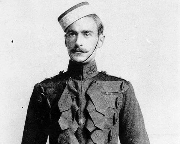 Second Lieutenant Adrian Carton de Wiart, 4th (Royal Irish) Dragoon Guards, c1901