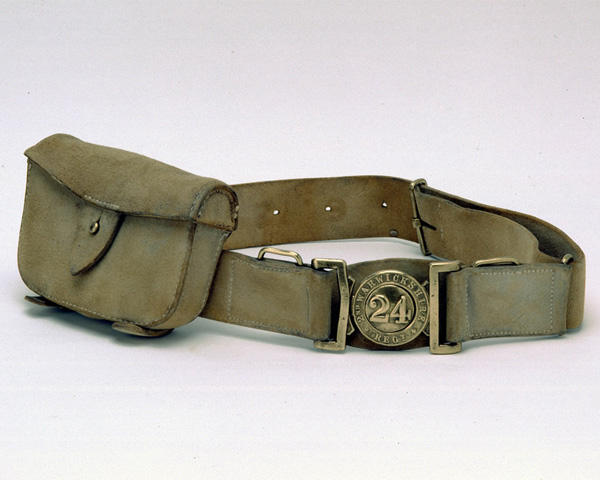 Waistbelt, other ranks, 24th (2nd Warwickshire) Regiment of Foot, 1879