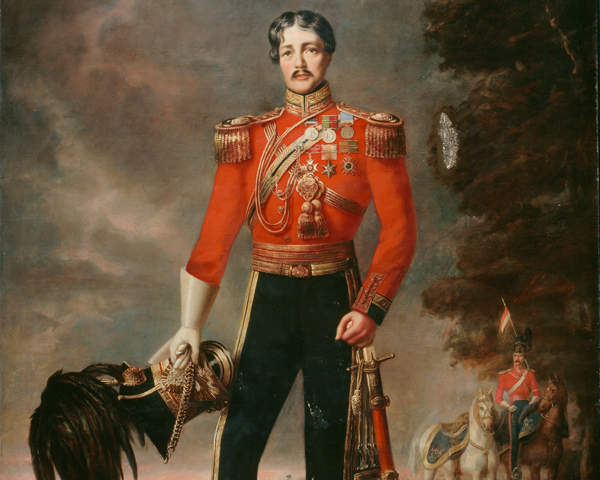 Lieutenant-Colonel George MacDowell, 16th (The Queen's) Light Dragoons (Lancers), 1848