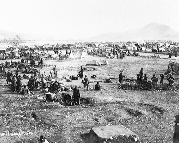 The Razmak Movable Column camp at Sorarogha, 1926