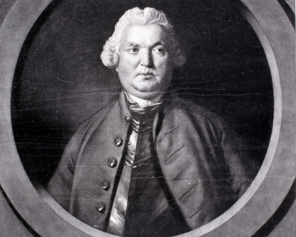 Major-General Stringer Lawrence, the first Commander in Chief in India, 1761