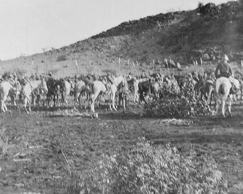 Troopers of 21st (Empress of India's) Lancers in the Sudan, c1898