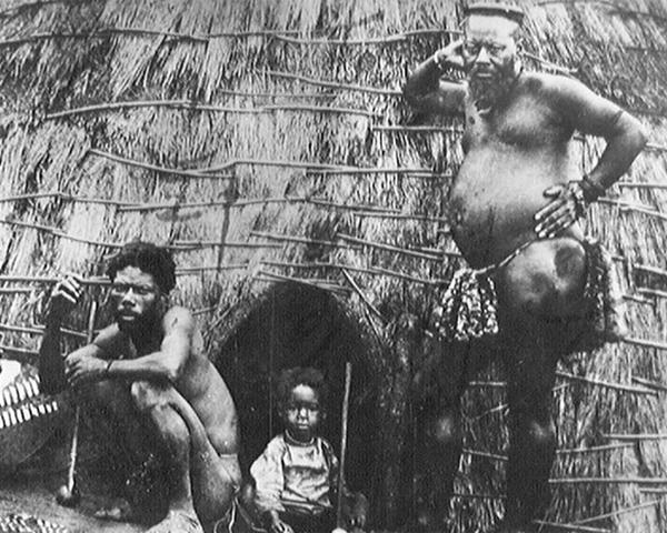 Ntshingwayo kaMahole (right) led the Zulus at Isandlwana, 1879