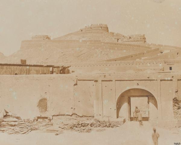 The Afghan fort of Spin Baldak, 1919