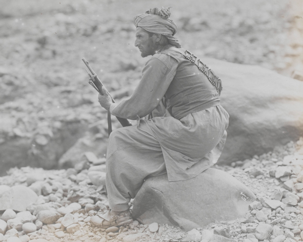 A Mahsud tribesmen, c1919