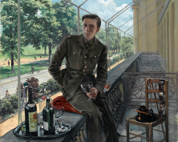 Second Lieutenant Rex Whistler, The Welsh Guards, 1940