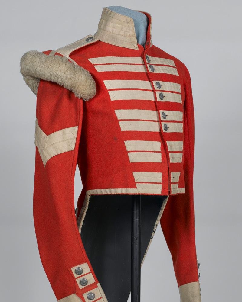 Corporal's full dress coatee, 2nd Bombay European Light Infantry, c1850