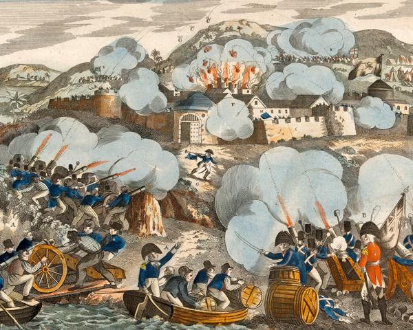 The capture of Martinique, 1809