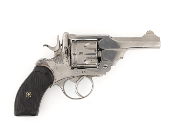 Webley revolver used by Lieutenant-Colonel Murray who commanded the 1st King's Own Scottish Borderers at Cambrai in 1917