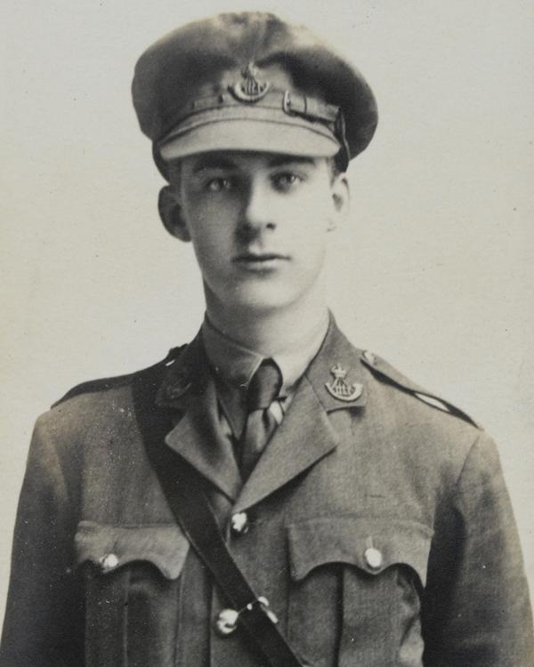 Captain Dennis Ely, 15th Durham Light Infantry, c1915