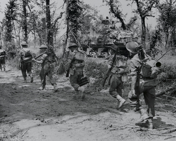 The 6th Royal Inniskilling Fusiliers at Cassino, May 1944