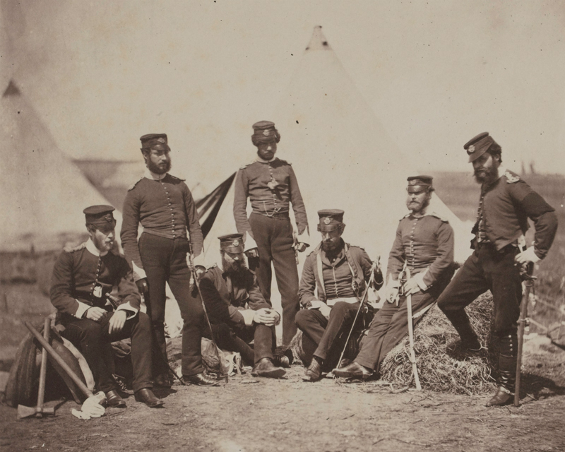 Officers of the 90th (Perthshire Volunteers) (Light Infantry) Regiment of Foot, 1855